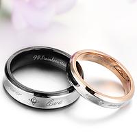 Парные кольца для влюбленных!