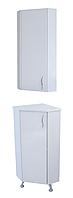 """Комплект мебели для ванной комнаты """"Угловой-1"""" (левый)"""