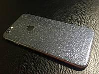 Декоративная защитная пленка для Iphone 6/6s светлый оникс