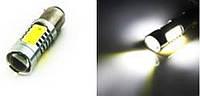 Лампа светодиодная 12V 1156 P21W 7.5W COB белая (11400) задний ход, стоп, поворот, подсветка салона
