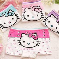 Трусы шорты, трусики для девочек Hello Kitty, хлопок