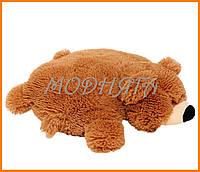 Декоративная подушка мишка | игрушка подушка медведь 45см