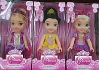 """Кукла """"Принцесса Диснея"""" 2090 6 видов, муз"""