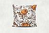 Подушка Бабочки (белый)