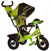 Детский трехколесный Велосипед Azimut Lamborghini Air+фара
