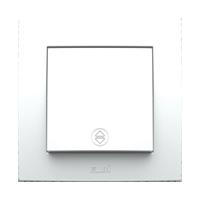 Выключатель проходной одинарный внутренний белый Neo El-Bi