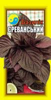 """БАЗИЛИК  ФІОЛЕТОВИЙ ТМ """"Флора Плюс"""" 3 г"""