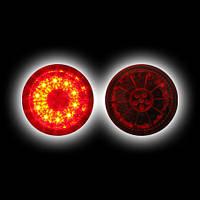 Альтернативная оптика для LEXUS IS200 '98-`05, светодиодный задний фонарь на крышку багажника, красный SK1630-LXIS2-R (тюнинг оптика, цена за