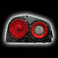 Альтернативная оптика для NISSAN R34 SKYLINE `98-`02, T/L ,фонари задние, светодиодные, тонированный красный DS640-B0DE2 NO (тюнинг оптика, цена за