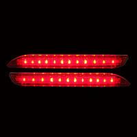 Альтернативная оптика для TOYOTA 2007-2010г. Дополнительный стоп сигнал/габарит в бампер (тюнинг оптика, цена за комплект)