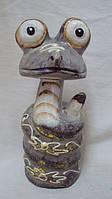 Статуэтка змея деревянная высота 18см