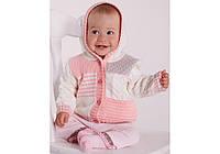 Кофта для малышей вязаная (р.74-86)