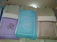 Теплый конверт  в санки и коляску , разные цвета