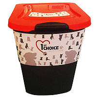 1st Choice (Фест Чойс) фирменный контейнер для хранения корма на 15 кг