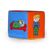 Кубик-погремушка. Дети ТМ Розумна іграшка