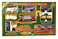 Жeлeзнaя дopoгa нa paдиoупpaвлeнии Service Railway, детская железная дорога, набор железная дорога