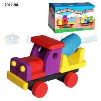 Деревянные игрушки машинки 3 вида