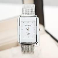 Брендовые серебряные часы