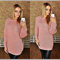 Вязаный,цветной женский свитер