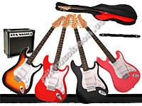 Электрическая гитара с усилителем Rookie Rock IN0035