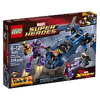Конструктор Лего Супергерои 76022 Люди Х против Стража.