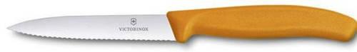 Кухонный нож для нарезки фруктов и овощей Victorinox SwissClassic 67736.L9 оранжевый
