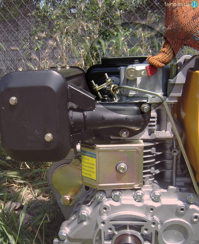 Дизельный двигатель Sadko DE-410 фото 4