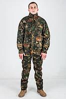 Костюм камуфлированный для охоты и рыбалки РШ клен темный