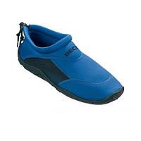 Тапочки для плавания и серфинга BECO синий/чёрный 9217 60