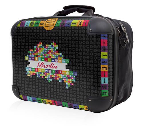 """Практичная сумка для ноутбука с диагональю до 15,4"""" Hauptstadtkoffer tasche черная"""