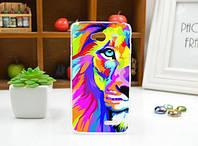 Чехол для LG L70/D325 панель накладка с рисунком лев картина