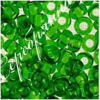 Бисер зеленый 50120 чешский Preciosa
