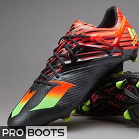 Футбольные бутсы Adidas MESSI 15.1 FG Black