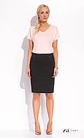 Женская летняя юбка-карандаш черного цвета. Модель Twyla Zaps, коллекция весна-лето 2016.