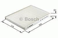 Повітряний фільтр салону 2382 mini cooper,one 01- (производство Bosch ), код запчасти: 1987432382