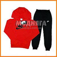 Спортивные костюмы Nike детские красная кофта