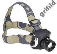 Налобный тактический фонарик POLICE BL-6631 6000W