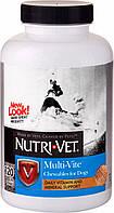 Nutri-Vet Multi-Vite (Нурти-Вет) Мульти-Вит комплекс витаминов и минералов для собак 120 т