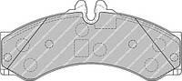 Колодки гальмівні дискові (производство Ferodo ), код запчасти: FVR1879