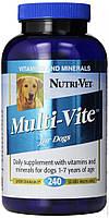 Nutri-Vet Multi-Vite (Нурти-Вет) Мульти-Вит комплекс витаминов и минералов для собак 240 т