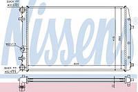 Радиатор охлаждения Skoda (производство Nissens ), код запчасти: 652711