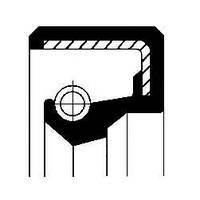 Акція!!! сальник 22x35x4,2/7 nbr basf (производство Corteco ), код запчасти: 01019504B