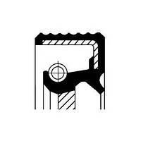 Сальник FRONT VAG BAPTSLRDX7 CALZATO 35X48X10 TFE (ТЕФЛОН) (производство Corteco ), код запчасти: 20026412B
