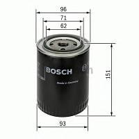 Фильтр масляный Audi, Skoda, VW (производство Bosch ), код запчасти: 0451203012