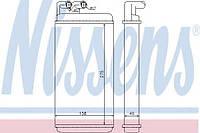 Радиатор печки Audi (производство Nissens ), код запчасти: 70220