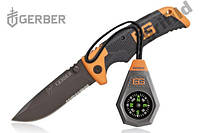Набор скаута Gerber Bear Grylls нож с компасом