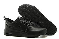 Кроссовки Nike Air Max Thea All Black Leather