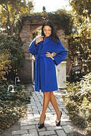 Пальто женское демисезонное кашемировое с поясом