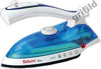 Ручной паровой утюг SATURN ST-CC7107 Blue