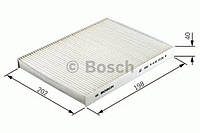 Фильтр салон SMART угольный (производство Bosch ), код запчасти: 1987432378